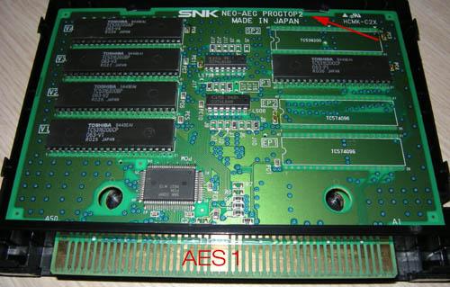 [WIP] conversion Neo Geo MVS vers AES Aes-pcb1