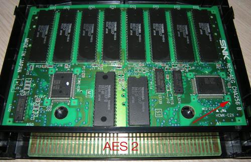 [WIP] conversion Neo Geo MVS vers AES Aes-pcb2